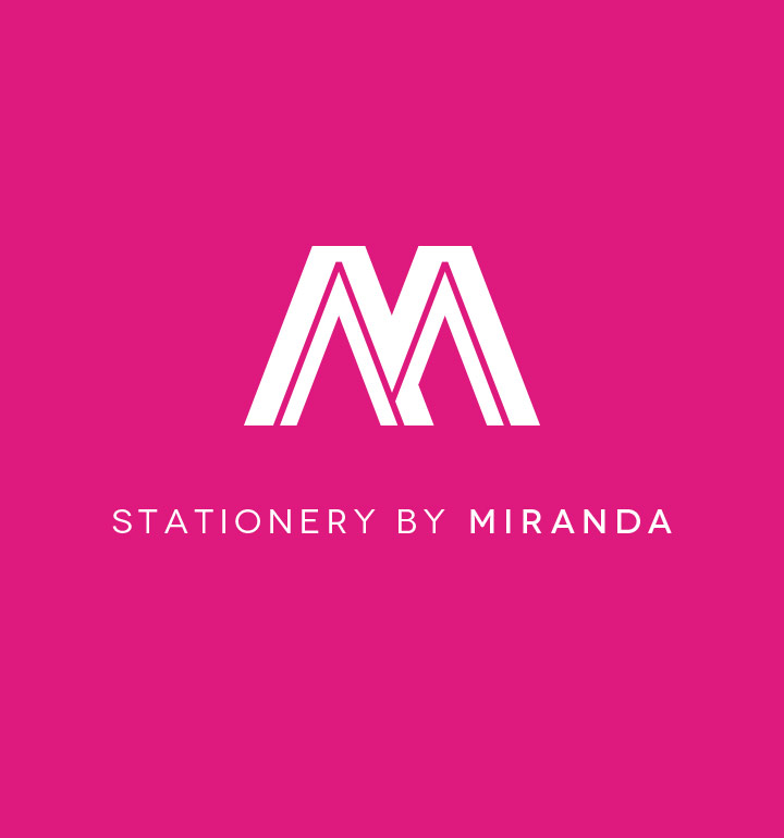 Stationery by Miranda's logo'